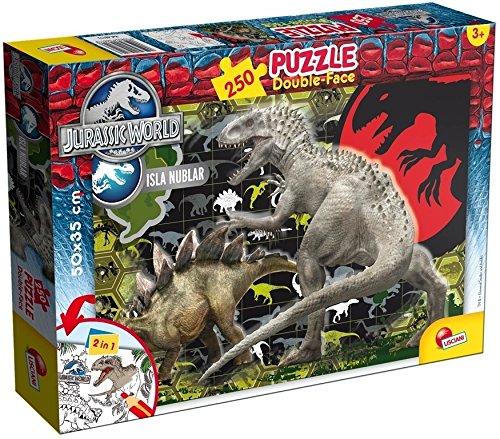 Lisciani 48649 - Jurassic World Carnifex Puzzle DF Plus, 250 Pezzi