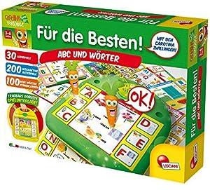 Lisciani 52509-carotina vorschule-para los Mejores-ABC y Palabras, Juego