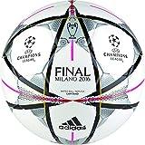 adidas Final Milano Cap - Balón para hombre, color blanco / negro, talla 5