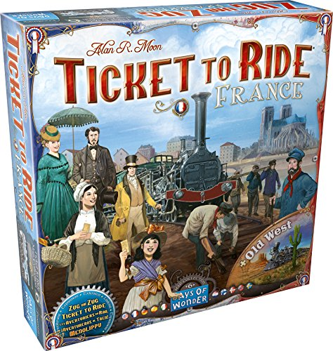 Asmodee Italia- Ticket to Ride Map Collection #6 Francia espansione Gioco da Tavolo, Colore, 8506