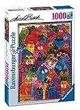 Ravensburger Italy 196302 - Puzzle Laurel Burch Fantastici Felini, 1000 Pezzi, Multicolore - Ravensburger - amazon.it