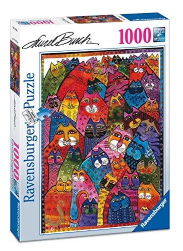 ravensburger-italy-196302-puzzle-laurel-burch-fantastici-felini-1000-pezzi-multicolore