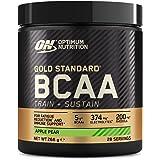 Optimum Nutrition Gold Standard BCAA, Acides Aminés en Poudre, Complément Alimentaire avec Vitamine C, Zinc, Magnésium et Éle