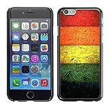 Snap-on Series Handy Schale Schutzhülle Hülle Case Cover für Apple Iphone 6 Plus / 6S Plus ( 5.5 ) , ( Betonfarben )