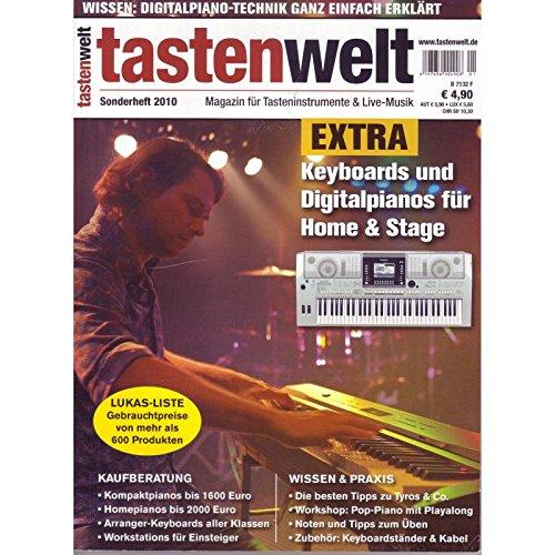 tastenwelt EXTRA: Keyboards und Digitalpianos für Home & Stage - Wissen & Praxis - Kaufberatung