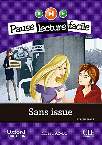 Portada del libro Sans Issue. Pack (Lecture + CD-Audio) (Mise En Scène) - 9782090314250