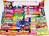 American Sweets Hamper Perfect Candy Gift includes, used for sale  Delivered anywhere in Ireland
