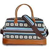 Best BLUBOON Bag For Men - Weekender Duffle Bag Women Mens Travel Bag Canvas Review