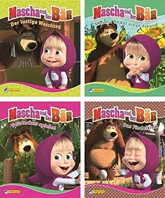 Nelson Mini-Bücher: 4er Mascha und der Bär 1-4