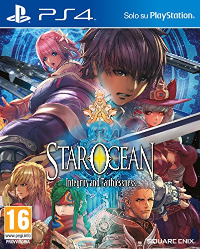 Star Ocean Integrity and Faithlessness - PlayStation 4