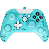 Wired Controller for Xbox One/Xbox One S/Xbox One X/Xbox Series X/PC, USB Wired Gamepad Controller with Dual Vibration…