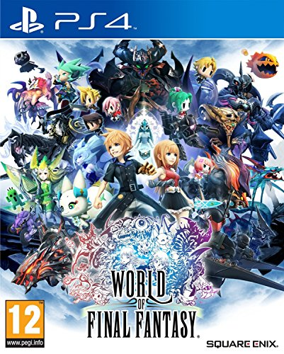 Square Enix World of Final Fantasy, PS4 Básico PlayStation 4 vídeo - Juego (PS4, Básico, PlayStation 4, RPG (juego de rol), E10 + (Everyone 10 +), Tose, Square Enix Business Division 3, Square Enix)