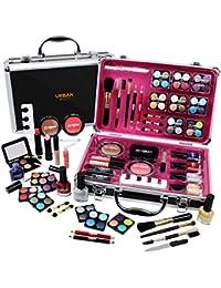 Cas le Maquillage Vanity Case Ensemble Cosmétique Urban Beauty Cadeau Filles Boîte de Voyage 57 Pièces