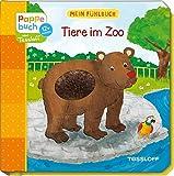 Mein Fühlbuch: Tiere im Zoo: Spielen, Fühlen, Entdecken (Bilderbuch ab 12 Monate)