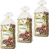 Hahne Bircher Müsli 3er Pack (3x1kg Packung)