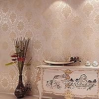BTJC Damasco, continentale europeo Palace Luxury modellato schiuma legante adesivo carta da parati in tessuto non tessuto tappezzeria Home Hotel , a2613
