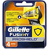 Gillette Fusion ProShield Lames de Rasoir Pour Homme 4 Recharges