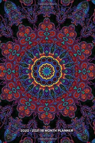 2020 - 2021 18 Month Planner: Colorful Peaceful Mandala | January 20 - June 21 | Daily Organizer Calendar Agenda | 6x9 | Work, Travel, School Home | ... Calendar Agenda Home Work Family Organizer)