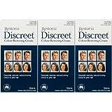 Fleurz 3 BOXES of Restoria Discreet Colour Restoring Cream 250ml