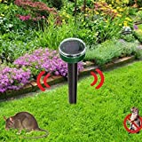 Yard Garden Solar Power Ultrasonic Mouse...