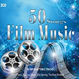 3cd 50 songs film music, orchestral works, jazz guitar, piano pieces, titanic, la vita è bella, moulin rouge various artist