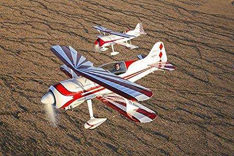 Scott Germain/Stocktrek Images – Two Pitts Model 12 aircraft in flight. Photo Print (87.38 x 58.42
