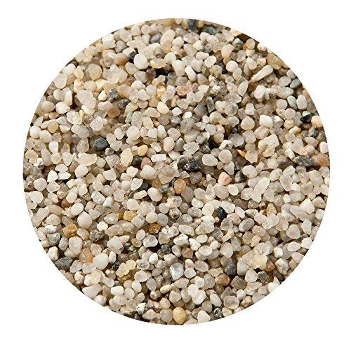 Fish Tank Gravel Aquarium Decoration Sand Substrate Natural GREY SILICA 2-3mm 20kg 1