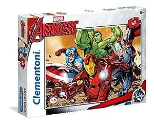 Clementoni Puzzle Vengadores/Avengers, 60 Piezas (269310)