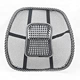 #1: Car Seat Chair Back Lumbar Support Cushion Pad