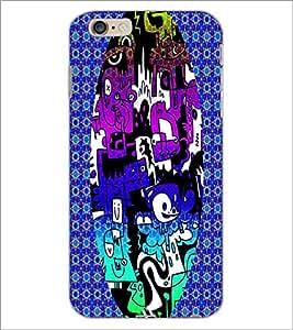 PrintDhaba Graffiti D-3950 Back Case Cover for APPLE IPHONE 6 PLUS (Multi-Coloured)