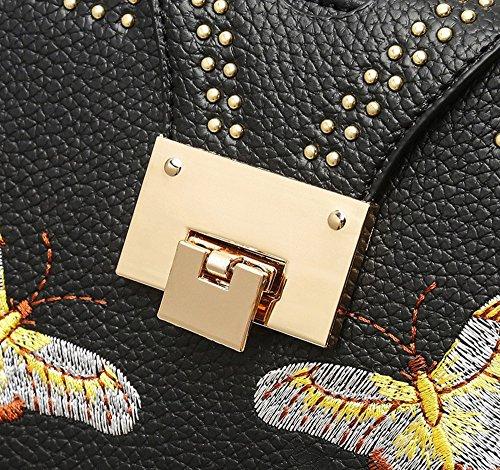 WiTa-Store Pochetta per trucchi, Rot (Rosso) - 4060131085259 nero