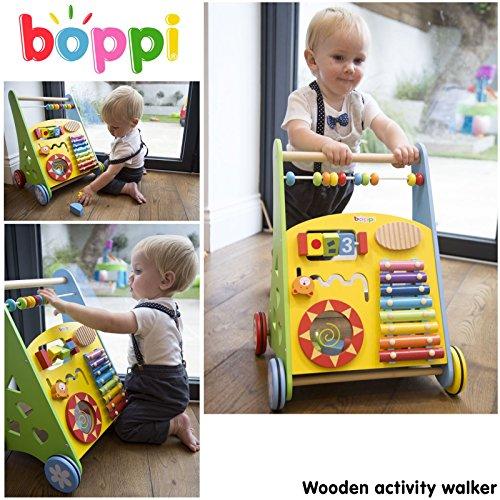 Lauflernwagen für Babys aus Holz von boppi® - Musik - 2