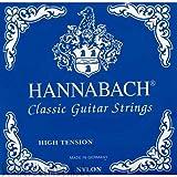 Hannabach Cuerdas para Guitarra Cl?sica Sol3 Nylon entorchado Sol3 Cromado