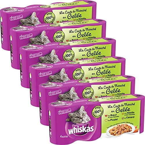whiskas-la-carte-du-marche-en-gelee4390g-lot-de-6-24-boites