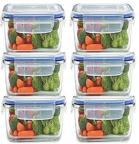 Piesome Airtight Food Storage Containers Plastic Kitchen Storage