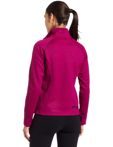Salomon Damen Helix Midlayer 1/2 Zip Top Purple Iris