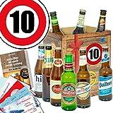Geschenk zum 10. Jubiläum | Bier Geschenkset mit Bieren der Welt