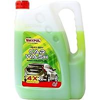 Waxpol Heavy Duty Car Wash Shampoo 10x Concentrate 4 LTR (for Snow Foam, Foam & Bucket Wash)