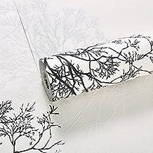 AZZJMadera Dorada Abstract Wallpaper Tela Sin Tejer Seda Wallpaper Backroom Restaurante 3D Fondos De Pantalla 9.5 * 0.53M Fibra Larga,Elegante Residencia De Montaña