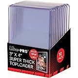 Ultra Pro Toploaders Lot de 10 surchargeurs Ultra épais 7,6 x 10,2 cm 180PT Accessoires