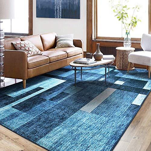 h Modern Geometric Multifunktional für Wohnzimmer Sofa Schlafzimmer zum Entspannen Lesen Multi Farben Teppich in verschiedenen Größen Teppich Teppich (140 x 200 cm) ()