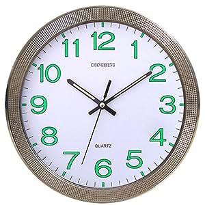 Cursonline 667 horloge murale quartz silencieuse for Jolie horloge murale