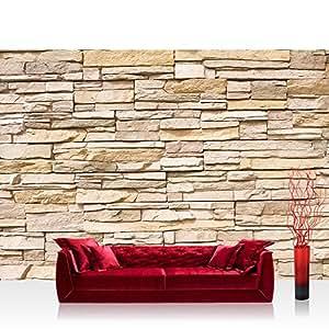 liwwing 39 non woven photo wallpaper asian stone wall non. Black Bedroom Furniture Sets. Home Design Ideas