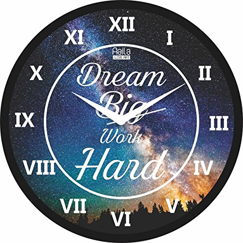 Aaila Creations Dream Big Wall Clock Aaila Creations Dream Big Wall Clock 61i5uvcVSML