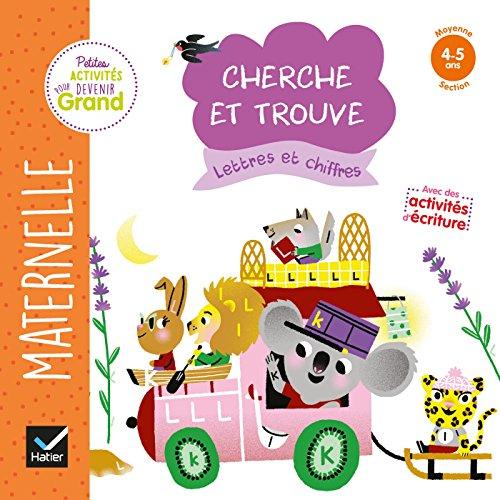 Cherche et trouve Lettres et chiffres MS par Marie-Françoise Mornet