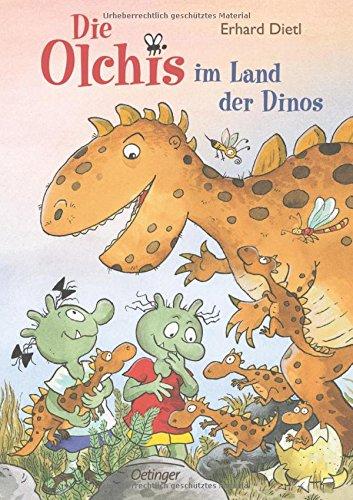 Die Olchis im Land der Dinos