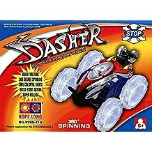 """Luz LED """"DASHER"""" coche de juguete con control remoto coche loco"""