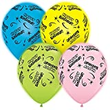 Pioneer National Latex Qualatex Q-Lite LED Light up Latex Party Pack Birthday (24 Balloons) Supplies, Assorted, 10""