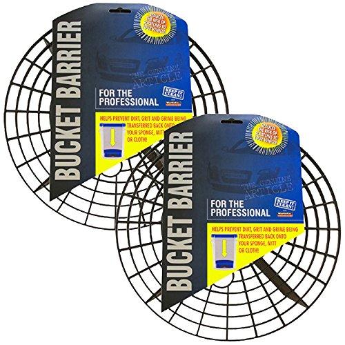 2x Pro Eimer Barriere 262mm-Wash Eimer System/Methode-Körnung Guard, Scratch Shield Pro Scratch Guard