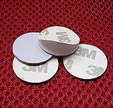 100& # X424; 25mm 125kHz RFID Schlüsselanhänger Schlüsselschilder t5557Nähe Medaille Schild Schlüsselkasten Tags selbstklebend Aufkleber